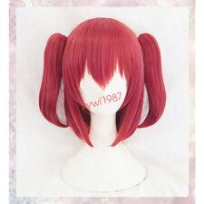 Love Live! Sunshine!! Aqours Kurosawa Ruby Wig Short Ponytails Cosplay wig