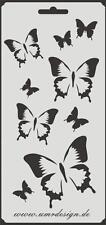 Scrapbook Stencil S-114  Butterflys ~ Craft ~ UMR-Design