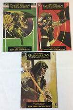 Mike Grell GREEN ARROW THE LONGBOW HUNTERS #1 2 3 ~ FULL SET