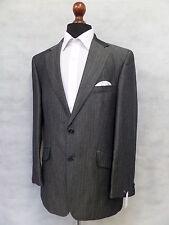 Men's Grey Marks & Spencer Autograph Linen Wool Suit Jacket Blazer 38R MV9139