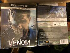 VENOM / MARVEL étui cartonné 4K Ultra HD + Blu-Ray VF/VO Sous Blister 1.99E port