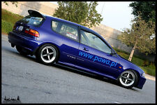 ROOF SPOILER FOR  >> HONDA CIVIC V HB 1991-1995 SPOON <<  the quick delivery