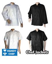 Chef Jackets -  Black Chef Jacket, White Chef Jacket, Short Sleeve Jackets, Long