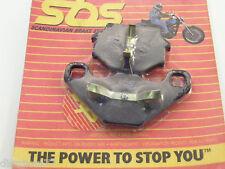 plaquettes de frein arriere SBS 692LF APRILIA 600 TUAREG 88/02  6.5 STARCK 95/02