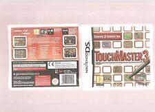 TOUCHMASTER 3 !!! La Meilleure Compilation de Jeux sur DS/3DS.Jeu NEUF Blister