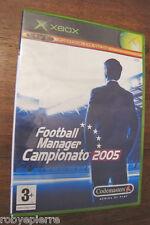 Videogioco xbox live funzionalità online football manager campionato 2005 nuovo