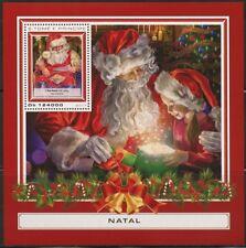 SAO TOME 2017 CHRISTMAS SANTA CLAUS  SOUVENIR SHEET MINT  NH