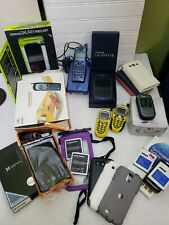 Lot Of Cell Phones & Accessories For Parts Or Repair