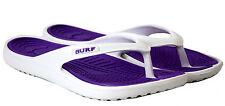 Womens Mens Flip Flops beach summer Ladies eva toe post surf slim flat sandals
