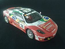 Hot Wheels Elite Ferrari F430 Challenge 1:18 #28 Bruno Senna (BRA) (MCC)
