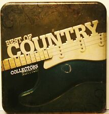 """""""Best Of Country""""  Various 3 CD Box Collectors Tin Excellent Condition"""