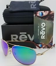 NEW Revo Windspeed sunglasses RE 1022GF 04 GN Gold Green Polarized Aviator Wind