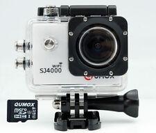 QUMOX WIFI SJ4000 weiß Action Sport Cam Kamera Waterproof HD 1080p 32GB MicroSD