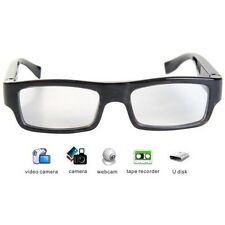 8GB HIDDEN SPY CAMERA DVR IN SLIM GLASSES 720P VIDEO RECORDER & AUDIO MICROPHONE