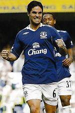 Foto de fútbol > Mikel Arteta Everton 2006-07