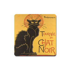 New Black Cat Le Chat Noir for Magnet (Square) free shipping