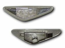 BMW 3 SERIES E46 2D 03-06 CLEAR LED SIDE LIGHT REPEATER INDICATORS