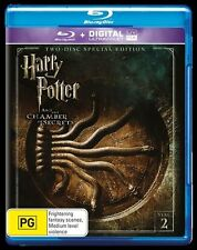 Harry Potter And The Chamber Of Secrets (Blu-ray, 2016, 2-Disc Set) D38