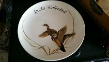 "Ducks Unlimited Art LaMay Large 15"" Platter Plate Rare Limited Edition Exclusive"