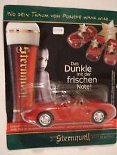 High Speed Sternquell Brauerei Promo Red Porsche Boxster Cabriolet 1996 1:43 NIB