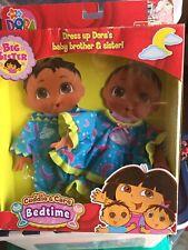 Dora Big Sister Cuddle & Care Bedtime Fashion- Dress up Dora's Brother & Sister