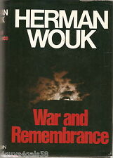 War and Remembrance by Herman Wouk (1978, Hardcover)
