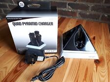 10X  charger Move Quad Pyramid playstation ps3 o ps4  new in box,sector uk