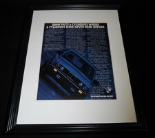 1984 BMW 325e 11x14 Framed ORIGINAL Vintage Advertisement B