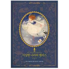 Alice's Adventure in Wonderland Illustrated Hard Cover Korean Book Recover Ver.