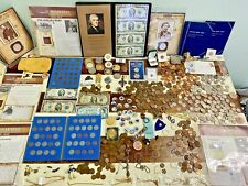 US COIN & ANTIQUE COLLECTION - Silver $, Vintage, Jewelry, Ancient, Coins+