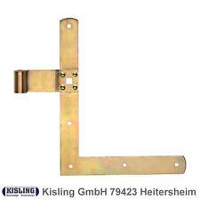 Winkelband 250 x 350 mm Rolle ø 10 mm Material 35/4 Band 30/3 mm gelb verzinkt
