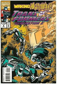 Transformers: Generation 2 #9 (1994) NM  Furman - Galan