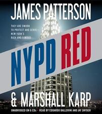 NYPD Red by James Patterson and Marshall Karp (2013, CD, Unabridged)