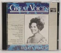 Great Voices - Renata Tebaldi - La Traviata - Tosea - 2 CD (TT1599)