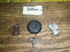 SUZUKI RM 125 1978 gas/fuel cap petcock mounts I have more parts for this bike