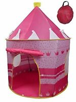 Princess Castle Play House Large Indoor Outdoor Kids Play Pop Up Tent Girls Pink