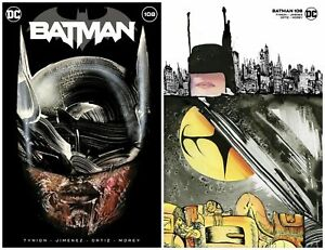 BATMAN #108 DAVID CHOE TRADE/MINIMAL TRADE DRESS SET LIMITED TO 1500 SETS