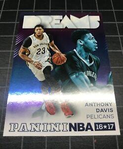 ANTHONY DAVIS 16 Panini NBA INTL RARE DREAMS REFRACTOR Ready to grade PSA 9/10?!