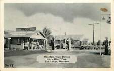 Roadside Postcard Mountain View Gas Station, Red Lodge, Montana circa 1940s
