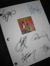 Detroit Rock City Signed Film Script Kiss Furlong Gene Simmons Paul Stanley rpnt