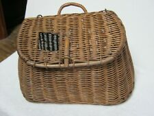 Vintage/Antique Wicker Fishing Creel. Found Hanging In An Old Pennsylvania Barn
