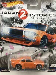 Hot Wheels Jap Historics 2 ** Orange MAZDA RX-3 * ROTARY** WOW ** 1:64