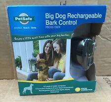 New- PetSafe- Big Dog Rechargeable Bark Control Collar- 10 Static Correct Levels