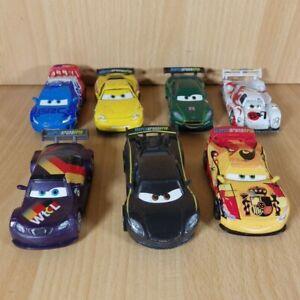 Pixar Cars Bundle World Grand Prix 7 Diecast Toys Vehicles Race Cars