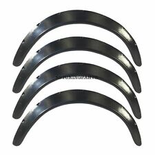 UNIVERSAL FLARES FENDER FLARE WHEEL ARCH EXTENSION ARCHES TRIMS JDM WIDE SET S3R