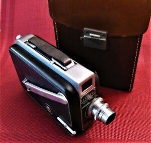 Vintage KEYSTONE K-50 16mm Movie Camera with Original Leather case.