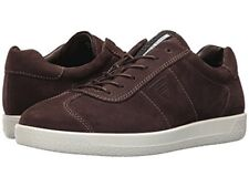 BRAND NEW IN BOX - MEN'S ECCO SOFT 1 SUEDE COFFEE TRAINERS SNEAKERS SIZE UK 8.5.