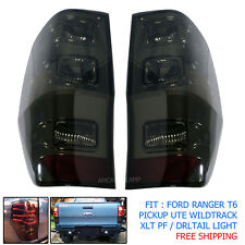 TAIL LAMP LIGHT LED RED BLACK For 12-15 FORD RANGER T6 CCFL PICKUP XLT WILDTRACK