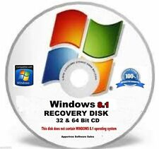 System Recovery disk Boot CD For Window 8.1- 32 & 64 bit