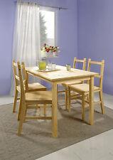 esstischgruppe set pin massif bois à manger 4 chaises Table de cuisine